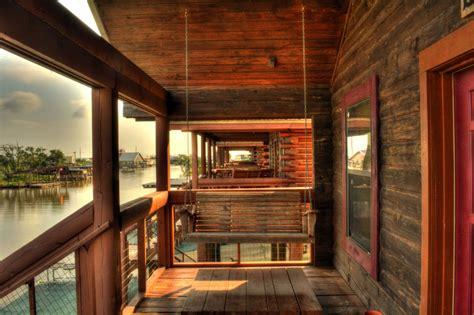 cabin fish log cabin rentals sulphur fishing cabins la