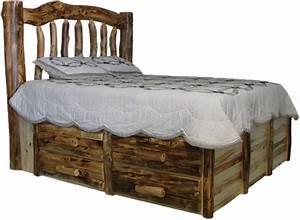 Log bedroom furniture, cedar log bed kits bunk bed log bed