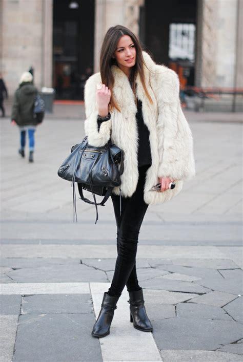 winter style damen pelzmantel damen schaffen sie einen modernen look