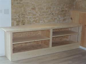 meuble de rangement escalier maison design bahbecom With construire un meuble de rangement