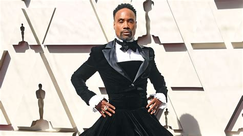 Billy Porter Stunning Oscars Tuxedo Gown Was Tribute