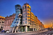 The Dancing House - Prague, Vlado Milunić, Frank Gehry, 1996