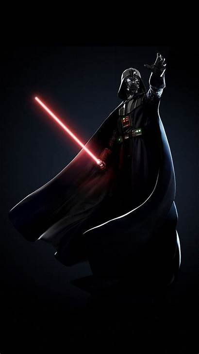 Vader Darth Wars Iphone Star Wallpapers Dark