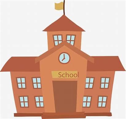 Building Scholen Middelbare Clipart Use Weer Niet