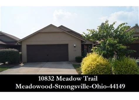 Homes For Sale In Strongsville Ohio by Strongsville Oh Homes For Sale 10832 Meadow Trl