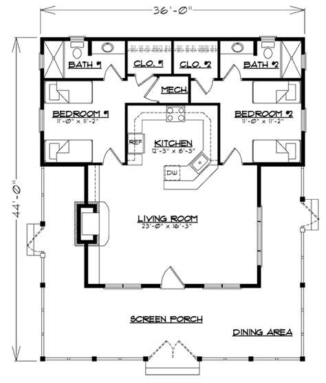 bunkhouse ken pieper  associates llc southern living house plans