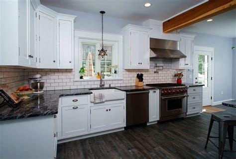 Traditional White Kitchen In Allentown, Pa  Morris Black