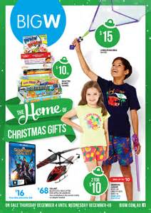 big w christmas gifts catalogue december 2014