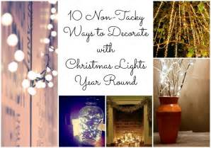 Headboard Lights For Reading by 10 Non Tacky Ways To Decorate With Christmas Lights Year Round