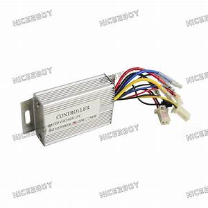 24v 250w Brush Motor Controller For Electric Bicycle