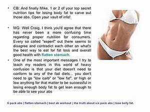 How To Get 6 Pack Abs Or Burn Belly Fat With Ab Workouts