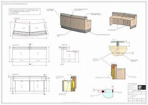 Cantilever Pergola Plans Reception Desk Woodworking Yellow