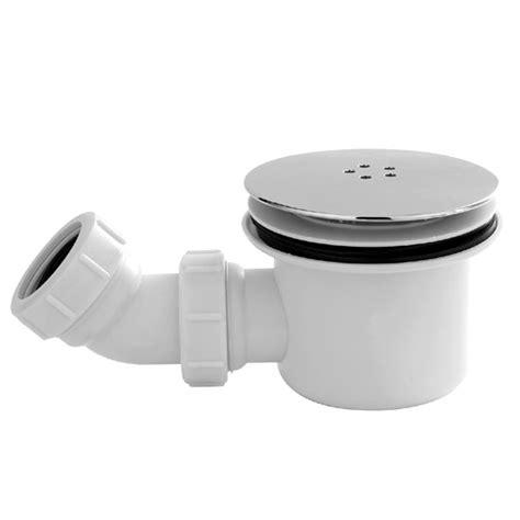 High Flow Shower - 90mm high flow chrome shower waste e329 at