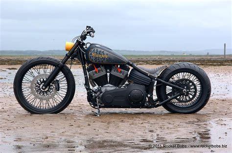 Left Side View Of Custom Harley Davidson Rocker C