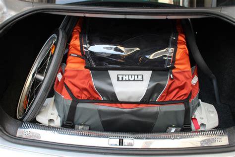 thule fahrradanhänger test thule chariot corsaire 2 fahrradanh 228 nger im test note 1 6