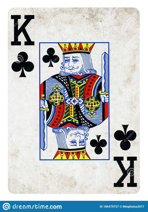 Stop by kings card club and toast to the new years with our featured cognac, golden wat! King Of Clubs Vintage Playing Card - Isolated On White Stock Image - Image of symbol, king ...