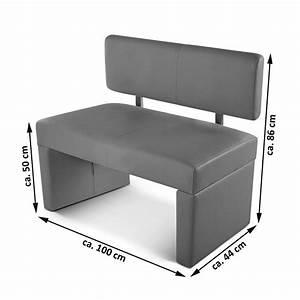 Sitzbank 100 Cm : sam esszimmerbank 100 cm wei recyceltes leder selena demn chst ~ Eleganceandgraceweddings.com Haus und Dekorationen