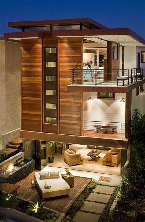 open air modern  story home favethingcom