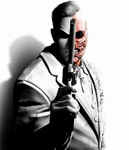 Cool Black and White Image of Two-Face in 'Batman: Arkham ...