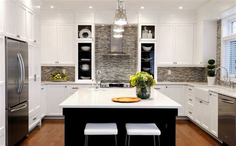 Bright bedrosians in Kitchen Transitional with Tile