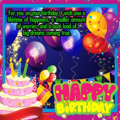 Happy birthday.its party time.wish your friends,family and beloved a very happy birthday with these happy birthday cards and ecards and make them feel special on their birthday. Birthday Loads Of Wishes. Free Birthday Wishes eCards, Greeting Cards   123 Greetings