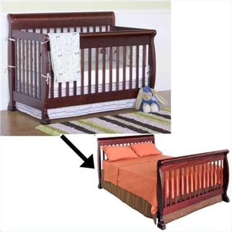 crib that turns into size bed baby cribs cribs and toddler bed on