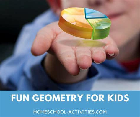 geometry activities  fun math games  kids