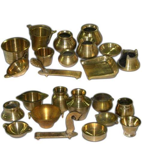 ramsons solid brass miniature kitchen utensils set   bg   rs