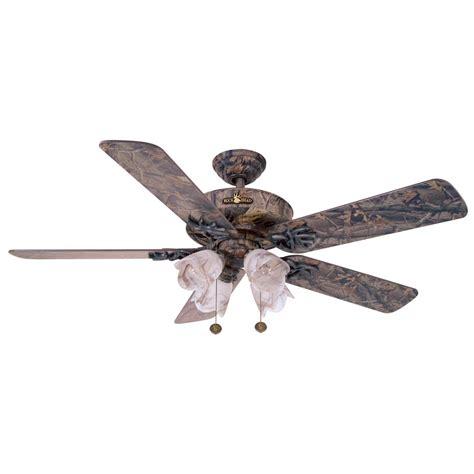 John Marshall Buckhead Series Hardwoods Camo Ceiling Fan