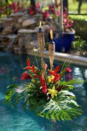 idee decoration tropicales fleurs mariage deco mariage