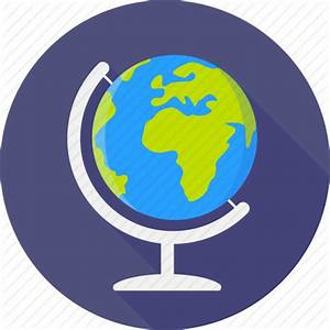 World Map Flat Icon | www.pixshark.com - Images Galleries ...