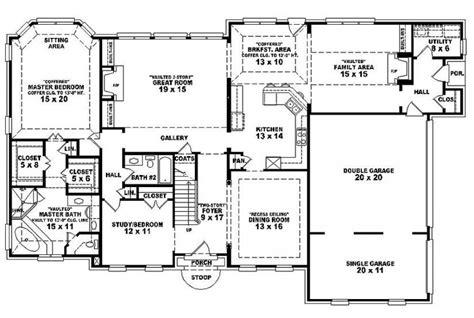 bedroom single family house plans house plan details