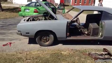 1969 dodge charger project for sale