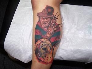 35+ Wonderful Jason Mask Tattoos