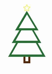Christmas Tree Template Printable Pdf Download