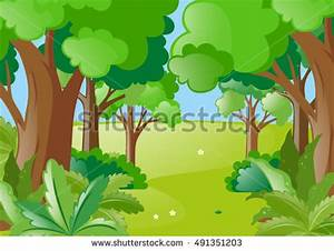 Thickets Jungle Stock Vector 222566167 - Shutterstock