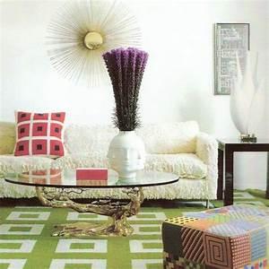 couleur interieurs oses par jonathan adler With tapis chambre bébé avec gerbe de fleurs enterrement