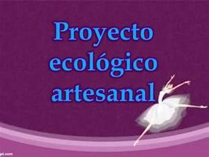 Proyecto ecológico artesanal