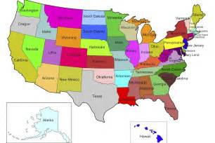 2017 United States Map