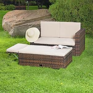 Polyrattan Sitzgruppe Braun : polyrattan sitzm bel braun sitzgruppe sofa lounge gartenset rattanm bel neu ebay ~ Watch28wear.com Haus und Dekorationen