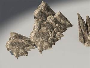 Mountain Rocky 3d model 3ds Max files free download ...