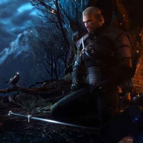 Animated Witcher 3 Wallpaper - the witcher 3 menu theme wallpaper engine
