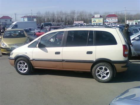 opel zafira 2002 2002 opel zafira pictures 1600cc gasoline ff manual