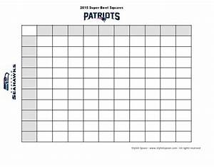 diy 2015 super bowl football betting squares free With super bowl betting pool template
