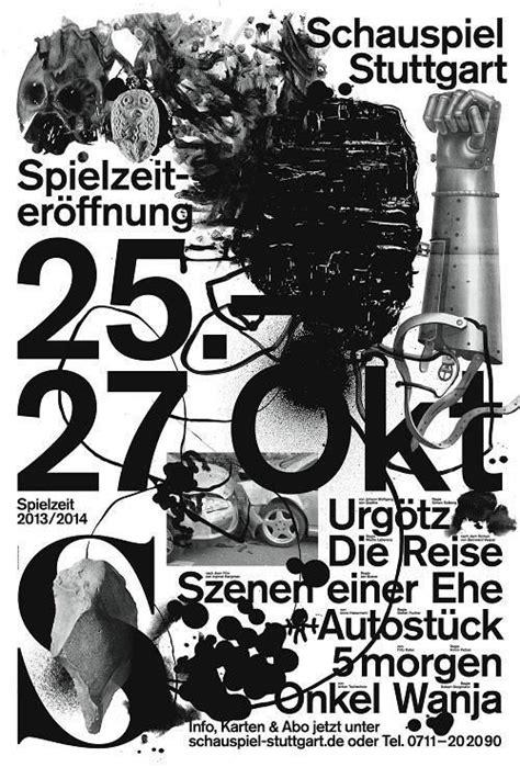 grafik design stuttgart jakob kirch de schauspiel stuttgart 2013 14 poster warsaw 2014 selections