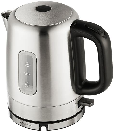electric kettle kettles amazon rated stainless steel liter amazonbasics