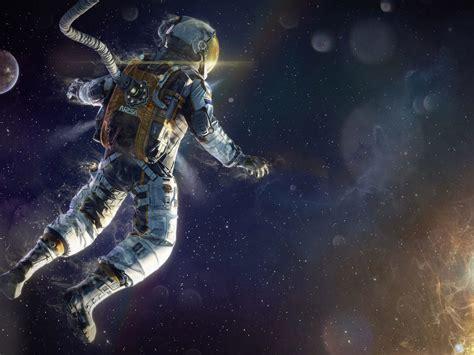 astronaut walk  space space art wallpapers hd