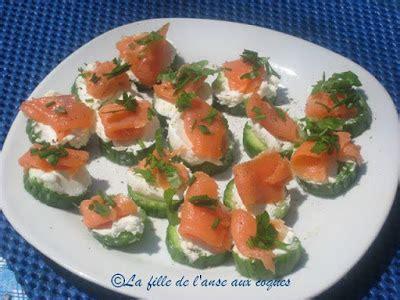 canap駸 au saumon la fille de l 39 anse aux coques petits canapés subito presto au concombre saumon