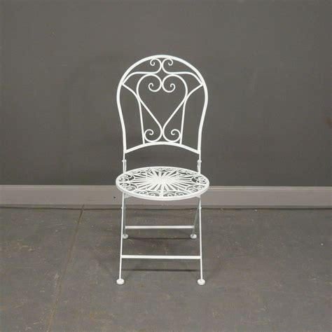 salon de jardin en fer forg 233 blanc avec deux chaises
