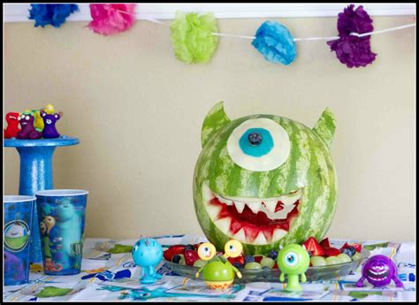 scary fun monsters university party babble monsters
